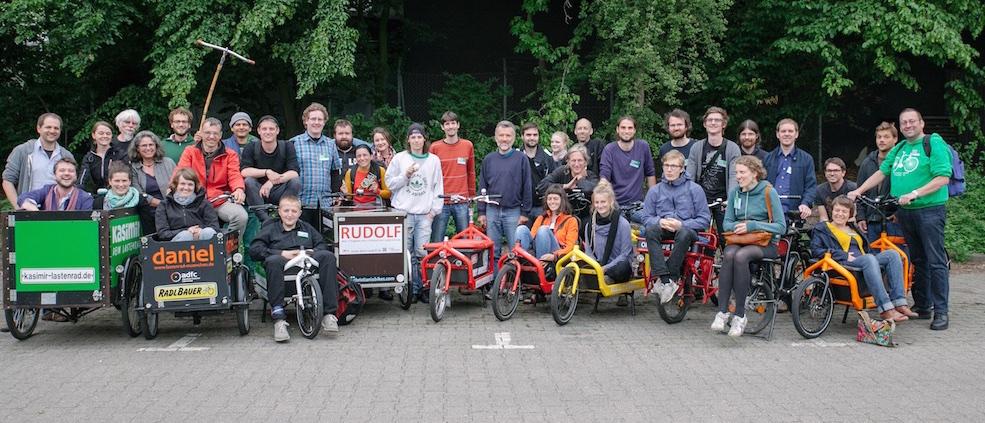 Das erste Forum Freie Lastenräder 2015 in Köln
